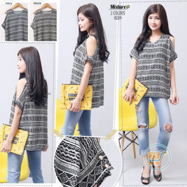 Blouse Fashion Tribal