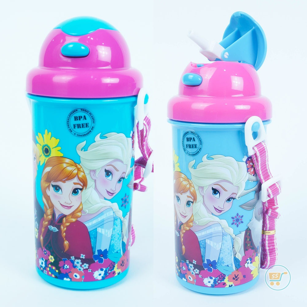 Botol Minum Frozen Blue And Pink
