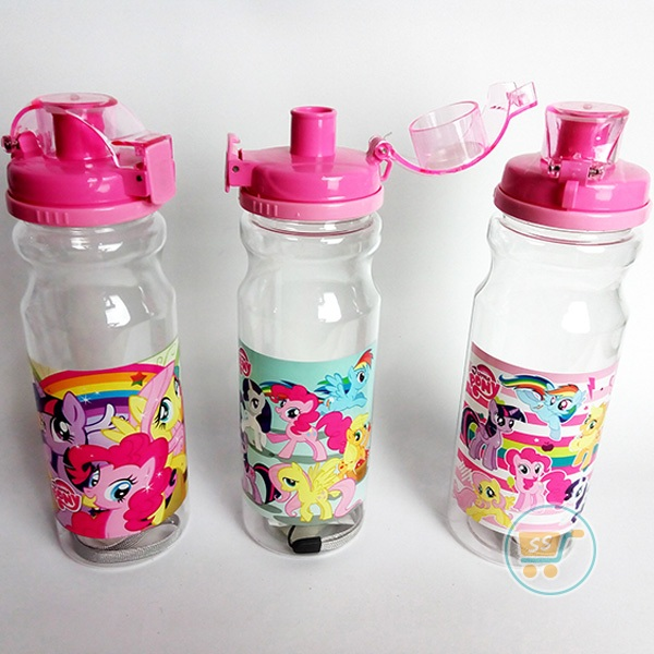 Botol Minum Little Pony Slim Long