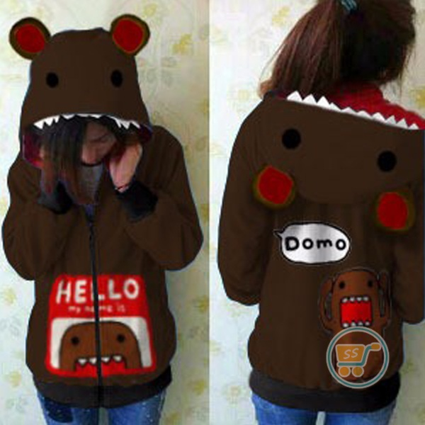 Jaket Domo Hello Cute Ears
