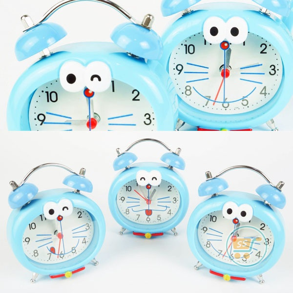 Jam Weker Doraemon Smalley Cute