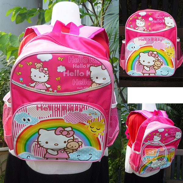 Ransel Hello Kitty Rainbow