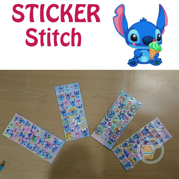 Sticker Stitch Timbul