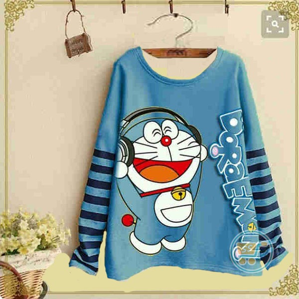 Sweater Doraemon Headphone