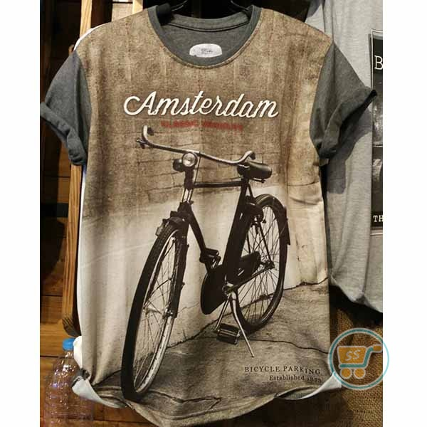Tshirt Bicycle Classic Parking