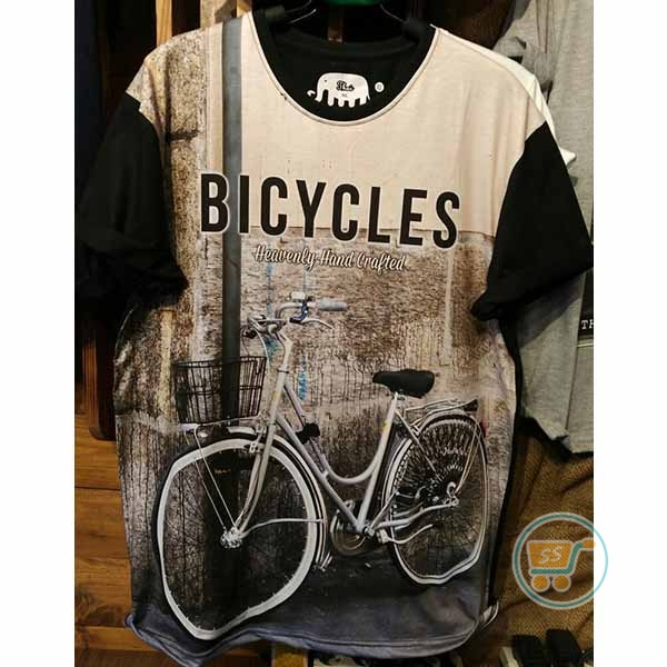 Tshirt Bicycle Heavenly XL