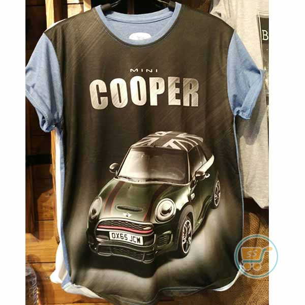 Tshirt Mini Cooper Black