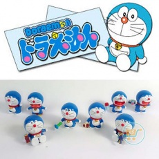 Action Figure Doraemon Action Set Of 8