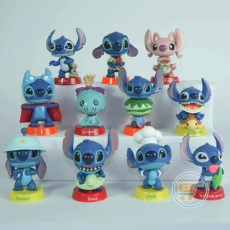 Action Figure Stitch Original Set of 11