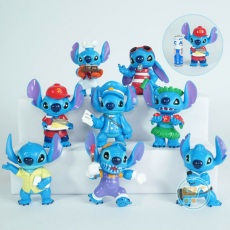 Action Figure Stitch Profesi