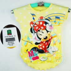 Baju Minnie Mouse Music Disney Original (Ukuran 4 - 14)