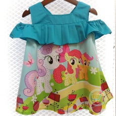 Baju Little Pony In The Hill Sabrina