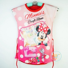Baju Minnie Mouse Tailor Disney Original (Ukuran 4 - 14)