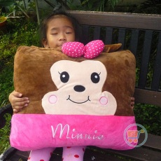 Bantal Minnie Kotak Large