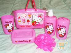 Bath Set Hello Kitty