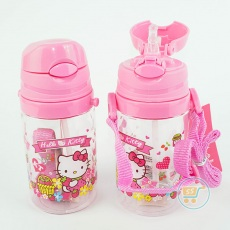 Botol Minum Hello Kitty Short Pink