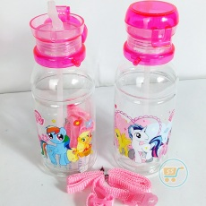 Botol Minum Little Pony Transparant