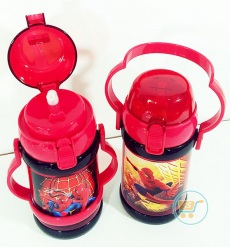 Botol minum Spiderman Gagang Medium