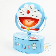 Cermin With Box Music Doraemon