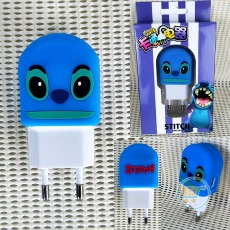 Colokan Charger Stitch Face