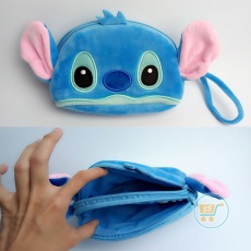 Dompet Stitch Baby Cute Face