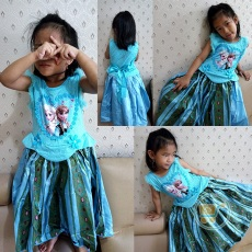 Dress Frozen Love Impor