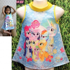 Dress Little Pony Friendship Magic (Ukuran 4 - 14)