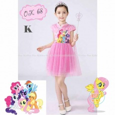 Dress Little Pony Shanghai (Impor)