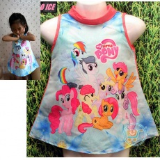 Dress Little Pony Sun Flower (Ukuran 4 - 14)