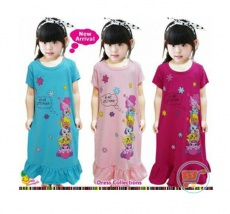 Dress Little Pony We Are (Ukuran 2-6) Biru