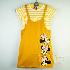 Dress Overall Minnie Mouse