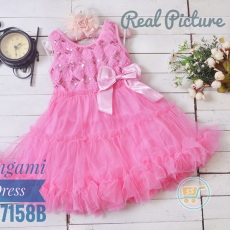 Dress Pink Girly Tile