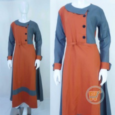 Gamis Duo Colour