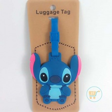 Gantungan Koper Stitch (Luggage Bag) Motif Random New