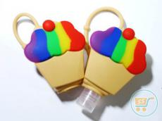 Holder 3D Cupcake Rainbow (Holder Only)
