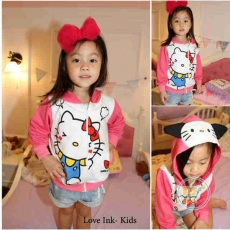 Jaket Hello Kitty Cute Face
