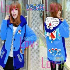 Jaket Doraemon Jumping Dream Hoodie Korea
