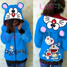 Jaket Doraemon Playing Happy Cute Ears