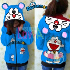 Jaket Doraemon Swimming Cute Ears