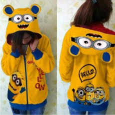 Jaket Minion Hello Cute Ears