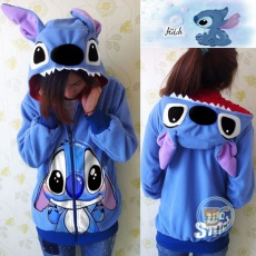 Jaket Stitch Ears And Tooth Funny Cutiez