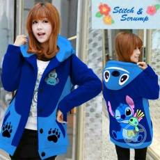 Jaket Stitch And Scrump Hoodie Korea