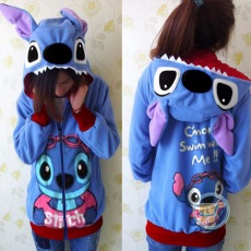Jaket Stitch Swimming Cute Ears