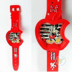 Jam Dinding Mickey Apple Watches