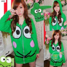 Jaket Keroppi Big Head Smile