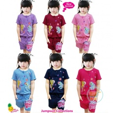 Jumpsuit Little Pony (Ukuran 2 - 6)