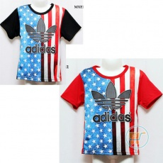 Kaos Adidas In The Flag (Ukuran 4 - 14)