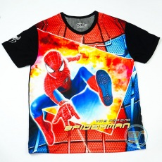 Kaos Spiderman The Amazing (Ukuran 16 - 20)