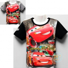 Kaos Cars In The City (Ukuran 4 - 8 )