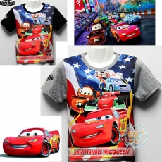 Kaos Cars Lightning Star (Ukuran 4 - 14)